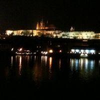 Ночная Прага. Пражский Град